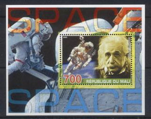 Mali 2005 space miniature sheet 2 values #1
