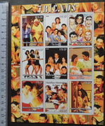 Congo 2004 friends television cinema movies caricature women m/sheet MNH