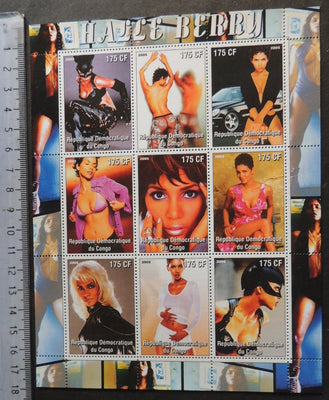 Congo 2005 halle berry movies cinema erotica women m/sheet MNH