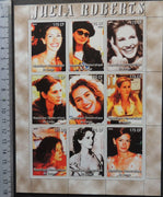 Congo 2005 julia roberts movies cinema women m/sheet MNH