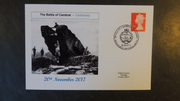 GB 2017 battle of cambrai militaria tanks ww1 privately produced (white) glossy postal card 150 x 100mm superb used #2