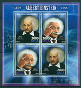 Madagascar 2013 albert einstein physics formulas m/sheet mnh