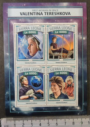 Sierra Leone 2016 space women valentina tereshkova m/sheet mnh