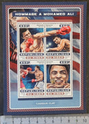 Niger 2016 mohamed ali sport boxing islam insects butterflies m/sheet mnh