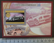 Guinea 2012 cars usa chrysler s/sheet mnh