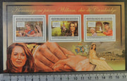 Guinea 2012 william and kate royalty wedding m/sheet mnh