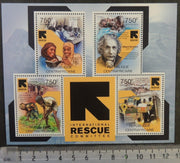 Central African Republic 2012 international rescue committee women children einstein m/sheet mnh