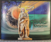 Mozambique 2012 isaac newton astronomy physics mathematics s/sheet mnh