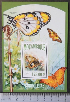 Mozambique 2013 insects butterflies s/sheet mnh