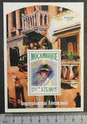 Mozambique 2013 american impressionists art paintings tarbell m/sheet mnh
