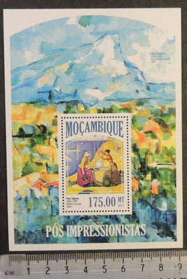 Mozambique 2013 post impressionists art women paul signac s/sheet mnh