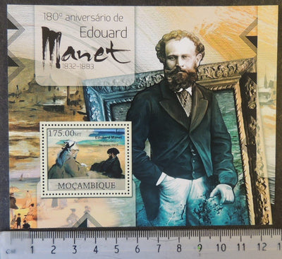 Mozambique 2012 edouard manet art paintings women s/sheet mnh