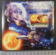 Maldives 2015 einstein physics space light based technologies chandra x-ray observatory s/sheet mnh