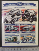 Maldives 2015 transport history electric cars trams motorcycles m/sheet mnh