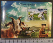 Maldives 2014 chinese astrology lunar year of the goat s/sheet mnh