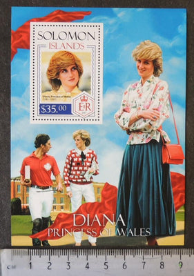 Solomon Islands 2013 diana princess of wales royalty women s/sheet mnh