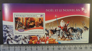 Togo 2014 christmas religion santa claus children nativity reindeer trees s/sheet mnh