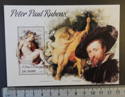 St Thomas 2013 peter paul rubens are nudes women s/sheet mnh
