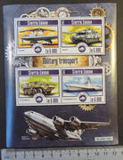 Sierra Leone 2015 military transport aviation stealth tanks ships m/sheet mnh