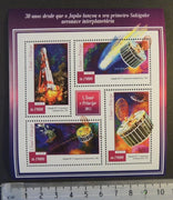 St Thomas 2015 japan space sakigake satellite rockets m/sheet mnh