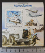 Sierra Leone 2015 united nations uno aviation helicopters transport s/sheet mnh