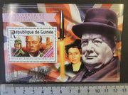 Guinea 2015 winston churchill ww1 ww2 aviation queen elizabeth ii royalty rockets v2 s/sheet mnh