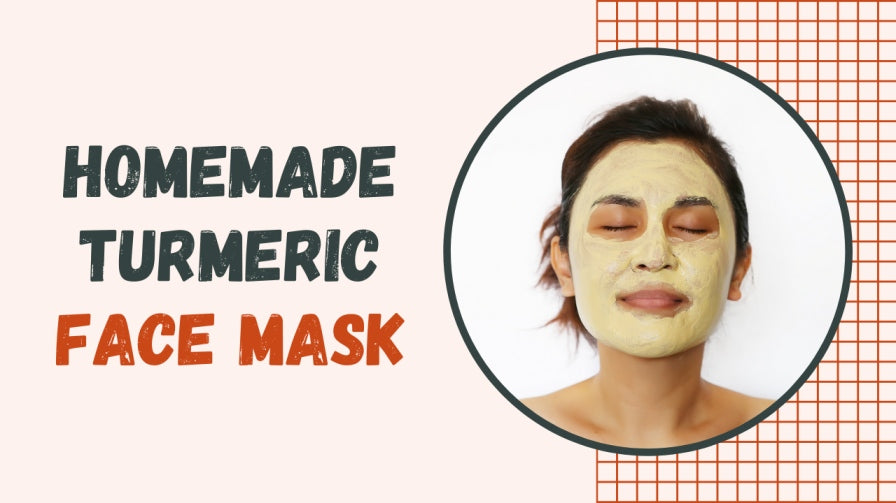 Homemade Turmeric Face Mask - The Underglow Skins