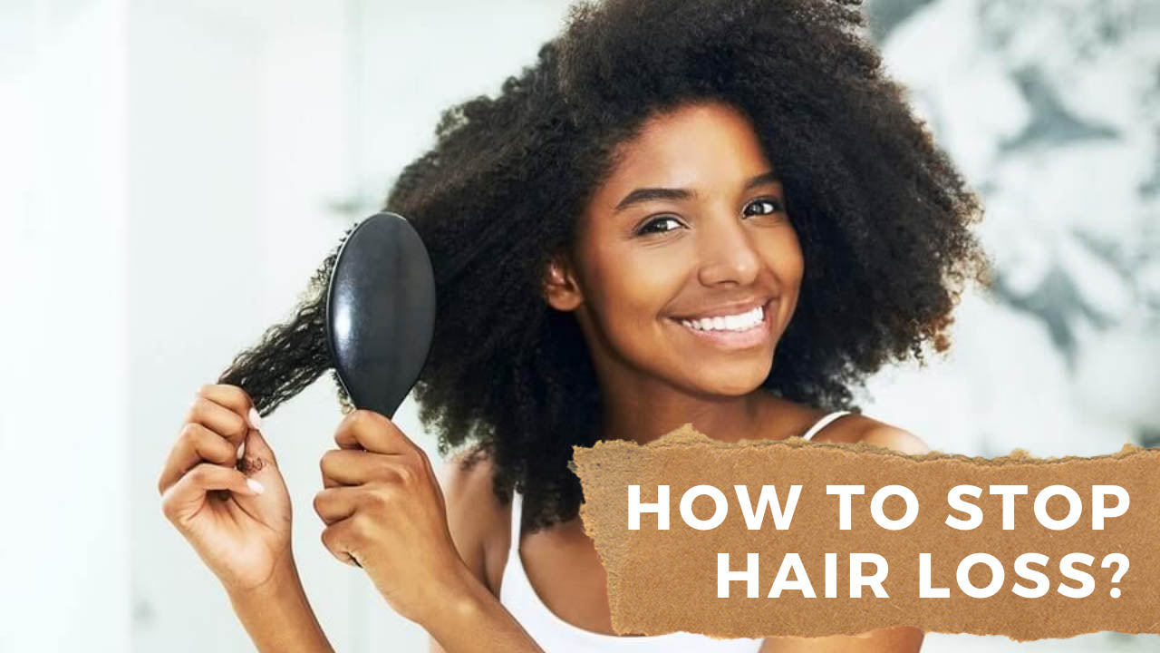 How to Stop Hair Loss - Underglow Skin