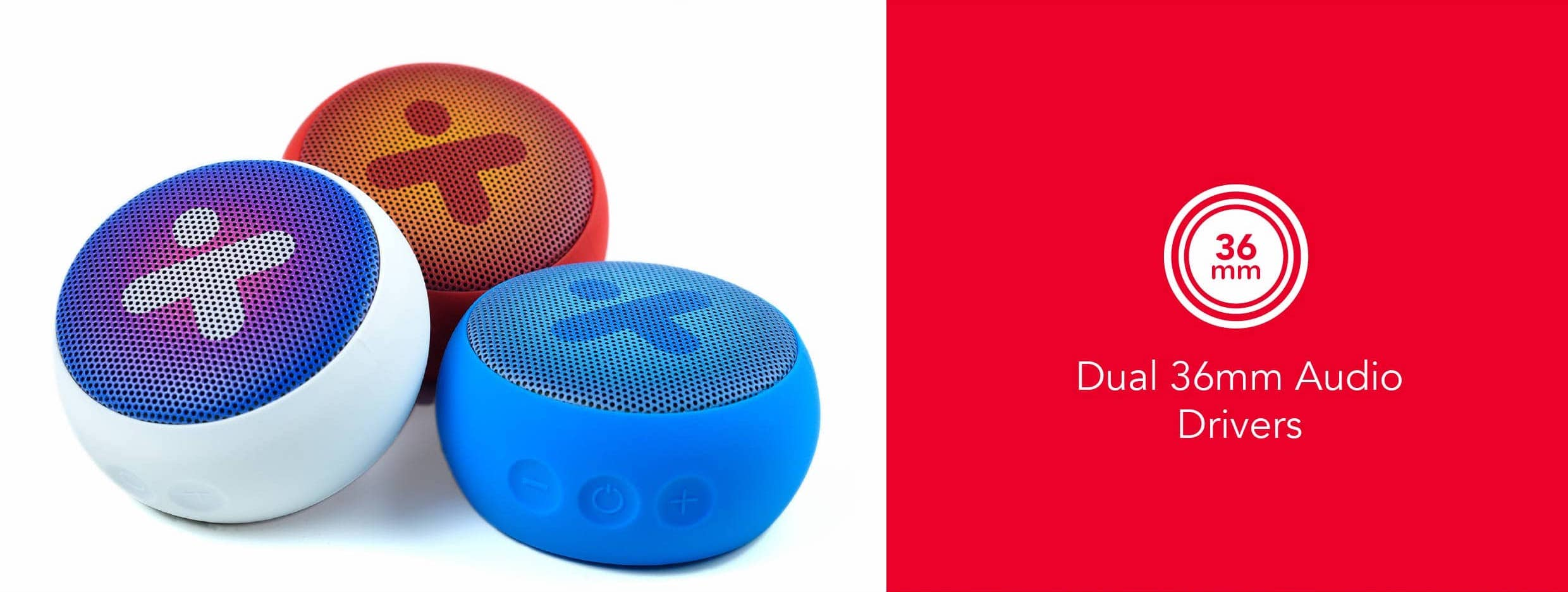 X-mini-Kai-X1-W-Waterproof-True-Wireless-Bluetooth-Portable-Speaker-Dual-36mm-Audio-Drivers