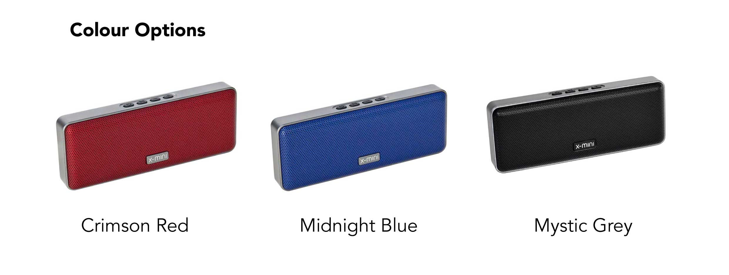 X-mini-Xoundbar-True-Wireless-Portable-Bluetooth-Stereo-Speaker-Colour-Options