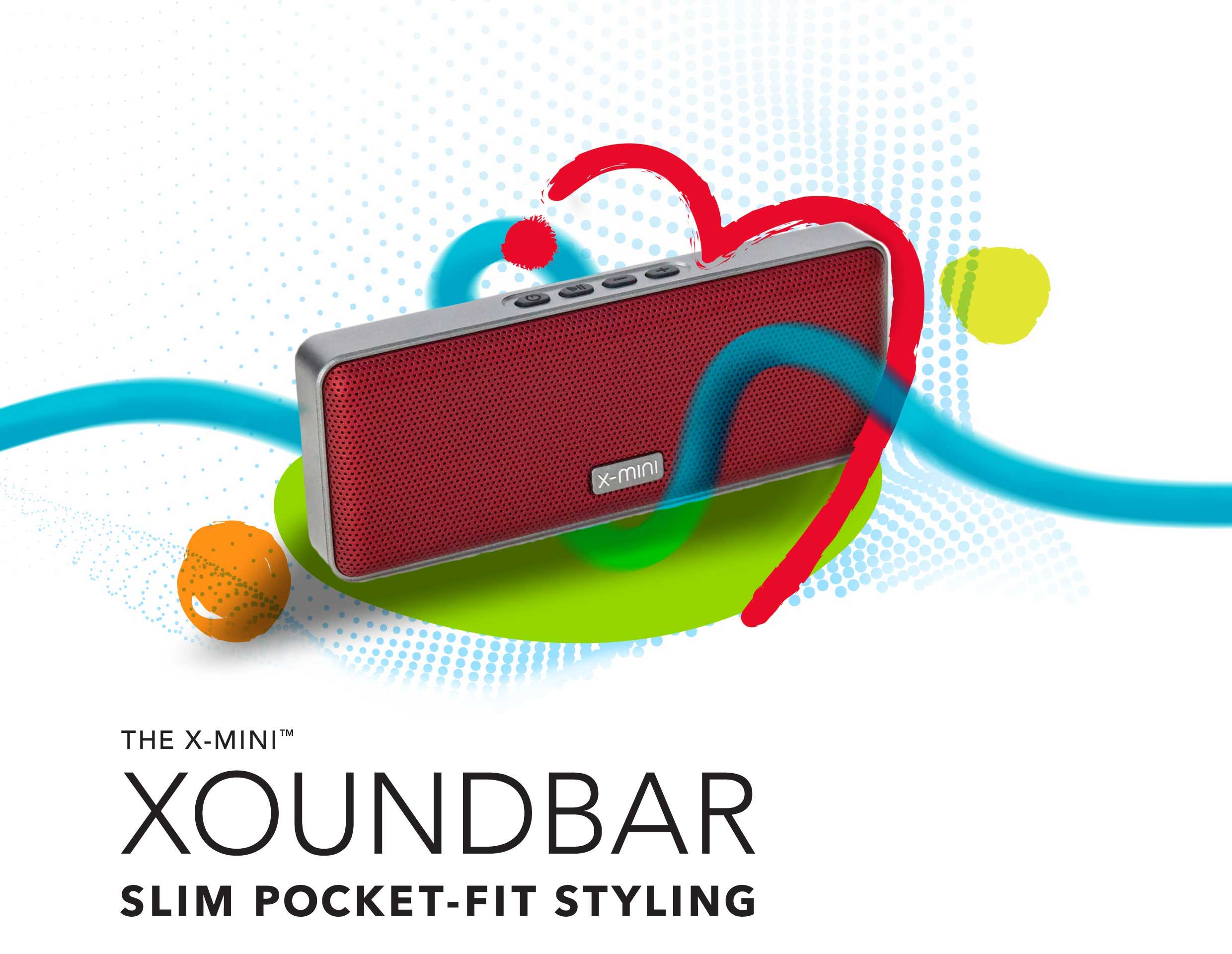 X-mini-Xoundbar-True-Wireless-Portable-Bluetooth-Stereo-Speaker