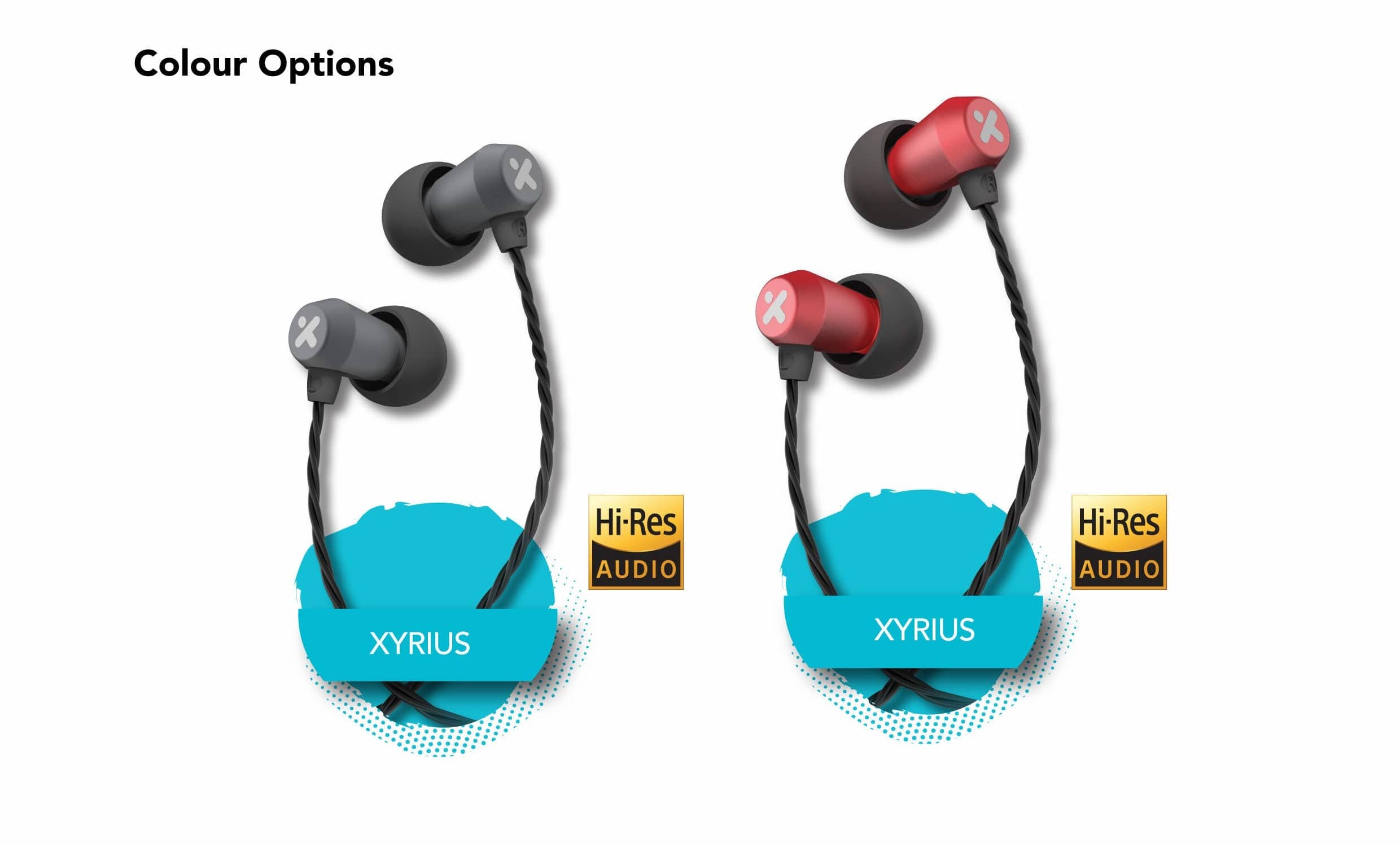 X-mini-Xyrius-Balanced-Hi-Res-Audio-Wired-Xoundbuds-earphones-Colour-Option