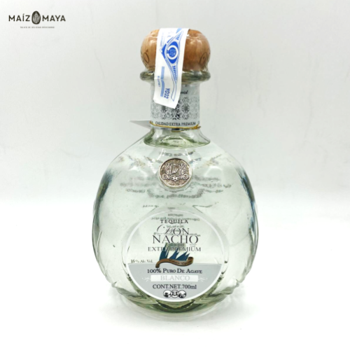 Tequila Don Nacho Blanco 700ml - 100% agave extra premium
