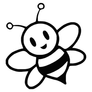 Animal Bumblebee Bee Window Door Car Laptop Auto Truck Vinyl Decal Sticker