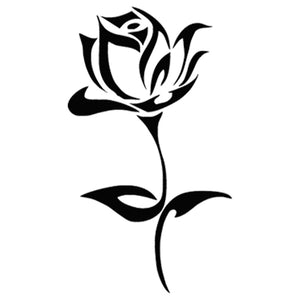 Beautiful Rose Decal