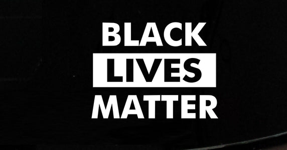Black Lives Matter BLM Car Window Vinyl Decal Sticker Floyd George