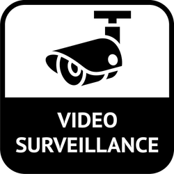 CCTV Video Surveillance In Operation Sticker Decal Graphic Vinyl