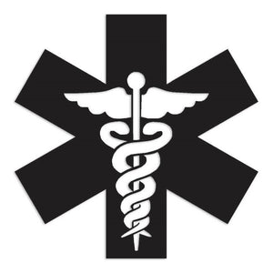 Caduceus Medical Symbol Decal Sticker