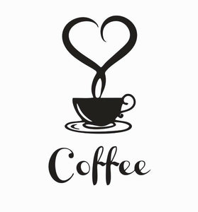 Coffee Lovers Vinyl Die Cut Car Decal Sticker