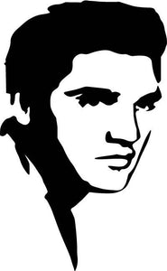 ELVIS Vinyl Decal, Custom Vinyl decal, bumper sticker, Car sticker, Car decal, Custom Sticker, Custom Decal, Vinyl