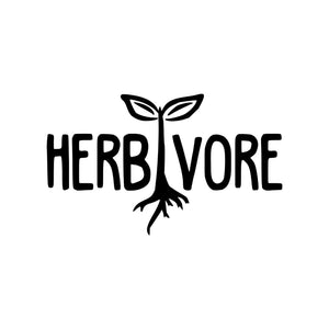 HERBIVORE Vinyl Decal Sticker Vegan Vegetarian Plants Plant Based