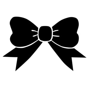 Knot Bow Vinyl Decal