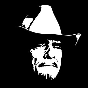 Merle Haggard vinyl decal sticker country music legend nashville SQUARE
