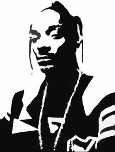 Snoop Dogg Calvin Broadus Vinyl Decal 3
