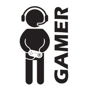 Video Game Gamer Car Decal Auto Car Door Wall Bumper Vinyl Sticker