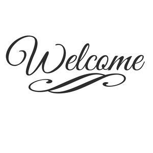 Welcome Wall Sticker