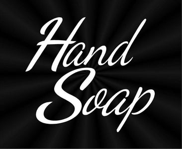 hand soap labels vinyl decals stickers