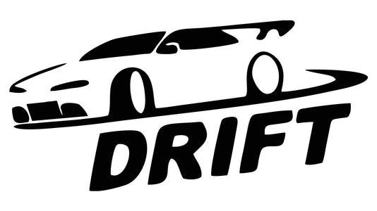 just drift winter car decal sticker race racing