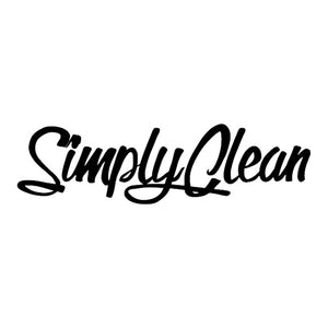 simply clean decal sticker