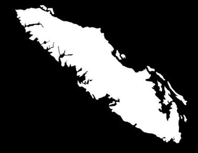 vancouver island car sticker decal